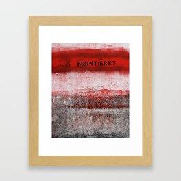 limites Framed Art Print