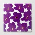 Purple Retro Flowers #decor #society6 #buyart by pivivikstrm