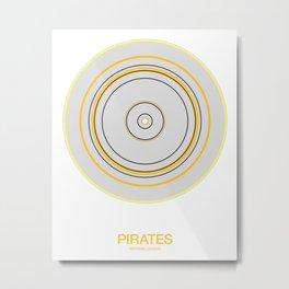 Pittsburgh rings Metal Print