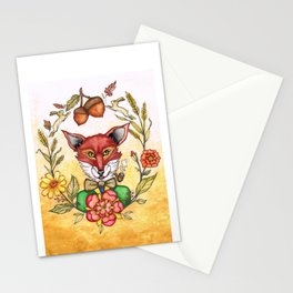 Professor Von Fox  Stationery Cards