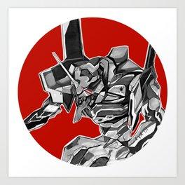 Evangelion Art Print