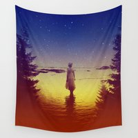 tolkien Wall Tapestries featuring Wander Night Noise by Stoian Hitrov - Sto
