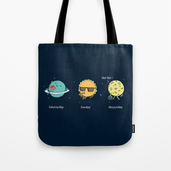 Moonday Tote Bag