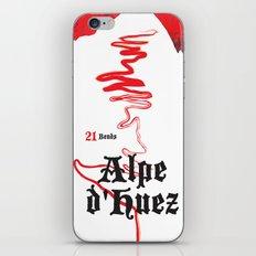 Alpe d'Huez 2, More Menace! iPhone & iPod Skin