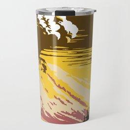 Vintage Lassen Volcanic National Park Travel Mug