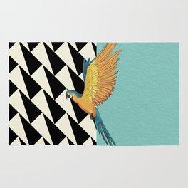 Parrot Pattern Rug