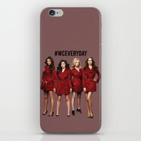 pretty little liars iPhone & iPod Skins featuring #WCEveryday Pretty Little Liars cast by Illuminany