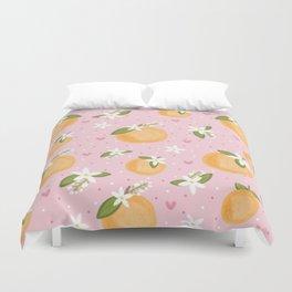 Orange Blossom Special Duvet Cover