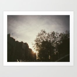 Paris, june 2013 Art Print