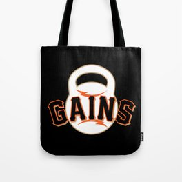 Giant Gains Tote Bag