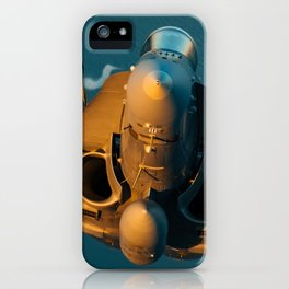 Hornet at sunset iPhone Case