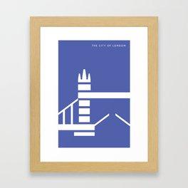 Iconic London: Tower Bridge Framed Art Print