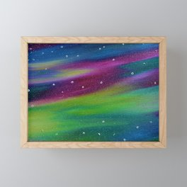 Rainbow Sky Framed Mini Art Print