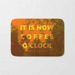 Coffee O'Clock Bath Mat
