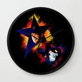 Nolan Ryan Wall Clock