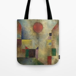 Red Balloon by Paul Klee Tote Bag
