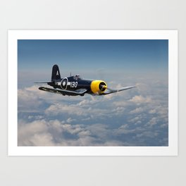 Vought F4U - Corsair Art Print