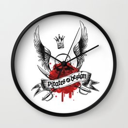 Pirates of Design Wall Clock