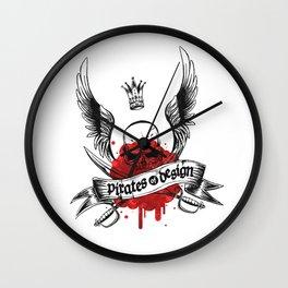 Pirates of Design Wall Clock