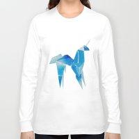 blade runner Long Sleeve T-shirts featuring Blade Runner| Unicorn by Eazy Verdeacqua