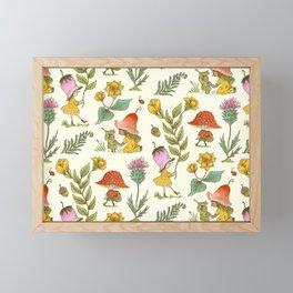 Summer Fairy Folk Framed Mini Art Print