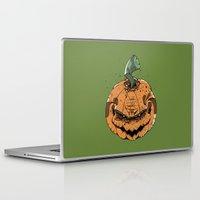 pumpkin Laptop & iPad Skins featuring Pumpkin by Kape