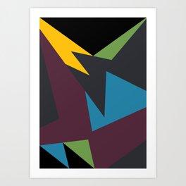 VII Bordeaux Art Print