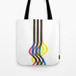 Xero-Graphic - CMYK Tote Bag