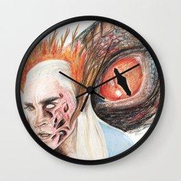 Dragonfire Wall Clock