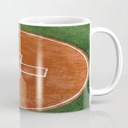 Baseball Field - Illustration Graphic Design Coffee Mug