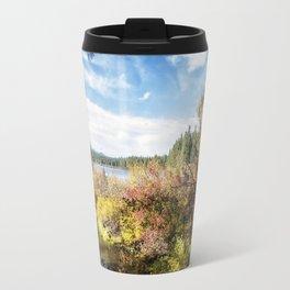 A Jumble of Color Travel Mug