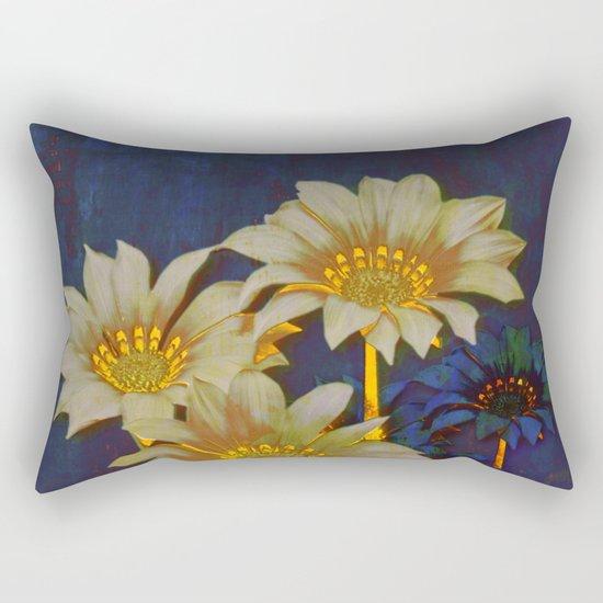 night floral Rectangular Pillow