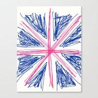 uk Canvas Prints featuring UK by R.Bongiovani
