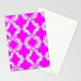 Grille No. 1 -- Violet Stationery Cards