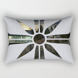 Souls do not harvest themselves Rectangular Pillow
