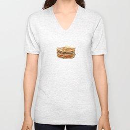 Mmmm... Pancakes Unisex V-Neck