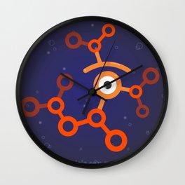 glance molecule Wall Clock