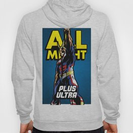 All Might Plus Blue Hoody