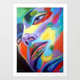"""""""Spellbound heart"""" Art Print"""
