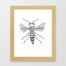 Not Your Honey Framed Art Print