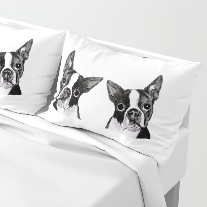 Boston Terrier Pillow Sham
