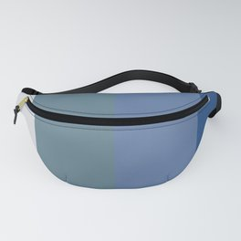 Parable to Behr Blueprint Color of the Year and Accent Colors Vertical Stripes 8 Fanny Pack