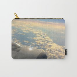 Sun And Clouds From Plane Carry-All Pouch