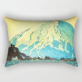 Waddling through Kennijo Lake Rectangular Pillow