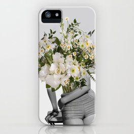 Flowers Spirit Collage iPhone Case