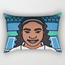 Serena Williams Rectangular Pillow
