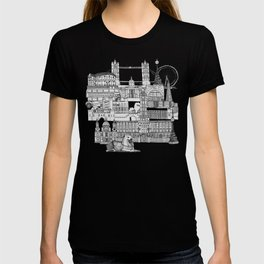 London toile red T-shirt