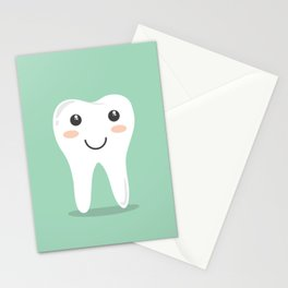 Cute Teeth Stationery Cards
