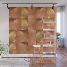 Golden Ratio, Golden Spiral Art Wall Mural