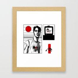 kinder/surprise Framed Art Print